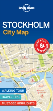 Lonely Planet Stockholm City Map, Sheet map, folded Book
