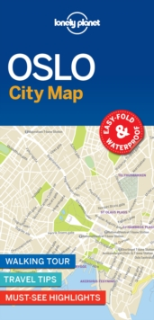 Lonely Planet Oslo City Map, Sheet map, folded Book