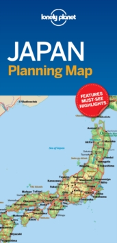Lonely Planet Japan Planning Map, Sheet map, folded Book