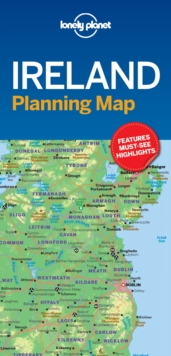 Lonely Planet Ireland Planning Map, Sheet map, folded Book