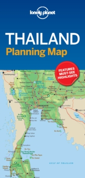 Lonely Planet Thailand Planning Map, Sheet map, folded Book