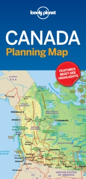 Lonely Planet Canada Planning Map, Sheet map, folded Book