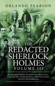 The Redacted Sherlock Holmes (Volume III), Paperback Book