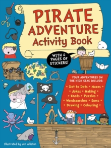Pirate Adventure Activity Book, Paperback Book