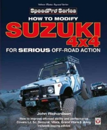 Modifying Suzuki 4x4 for Serious Offroad Action, Paperback / softback Book