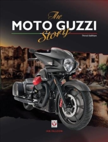The Moto Guzzi Story - 3rd Edition, Hardback Book