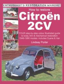 How to restore Citroen 2CV, EPUB eBook