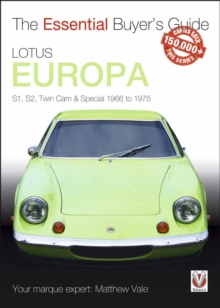 Lotus Europa, EPUB eBook