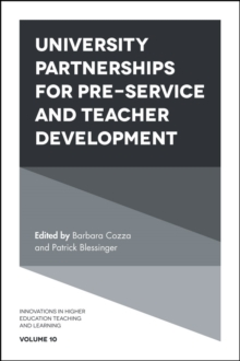 University Partnerships for Preservice and Teacher Development, Hardback Book