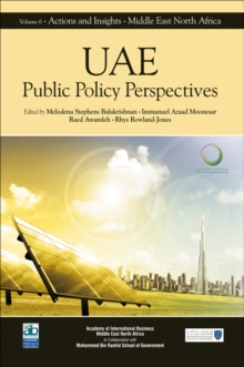 UAE : Public Policy Perspectives, Hardback Book