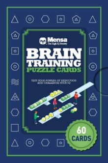 Puzzle Cards: Mensa Brain Training, Mixed media product Book