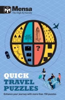 Mensa: Quick Travel Puzzles, Paperback Book