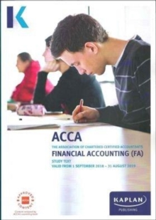 FINANCIAL ACCOUNTING (FA) - Study Text, Paperback / softback Book