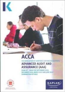 ADVANCED AUDIT AND ASSURANCE (AAA - INT/UK) - STUDY TEXT, Paperback / softback Book