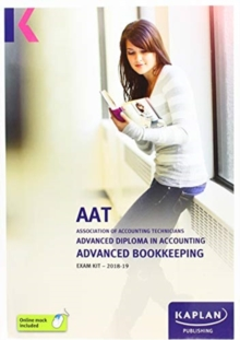 ADVANCED BOOKKEEPING - EXAM KIT, Paperback / softback Book