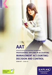 MANAGEMENT ACCOUNTING: DECISION AND CONTROL - EXAM KIT, Paperback / softback Book