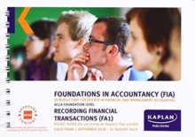 FA1 - RECORDING FINANCIAL TRANSACTION - POCKET NOTES, Paperback / softback Book
