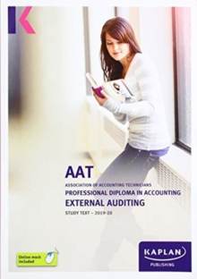 EXTERNAL AUDITING - STUDY TEXT, Paperback / softback Book