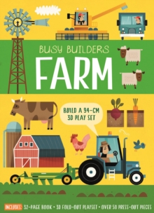 Busy Builders: Farm, Novelty book Book