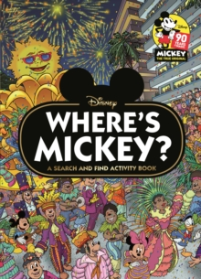 Where's Mickey? : A Disney search & find activity book, Hardback Book