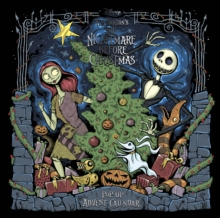 Disney Tim Burton's The Nightmare Before Christmas Pop-Up Book and Advent Calendar, Novelty book Book