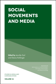 Social Movements and Media, Hardback Book