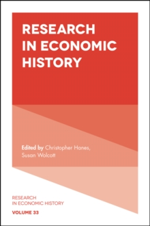 Research in Economic History, Hardback Book
