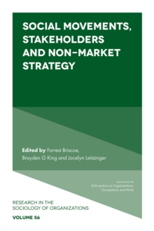 Social Movements, Stakeholders and Non-Market Strategy, Paperback / softback Book
