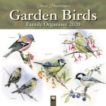 Chris Pendleton Garden Birds Family Organiser (Art Calendar) 2020, Calendar Book