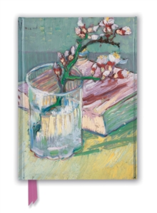 Vincent van Gogh: Flowering Almond Branch (Foiled Journal), Notebook / blank book Book