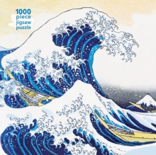 Adult Jigsaw Hokusai: The Great Wave : 1000 piece jigsaw, Jigsaw Book