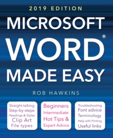 Microsoft Word Made Easy (2019 edition), Paperback / softback Book