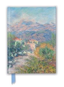 Claude Monet: Roman Road at Bordighera (Foiled Journal), Notebook / blank book Book