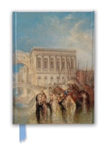 Tate: Venice, the Bridge of Sighs by J.M.W. Turner (Foiled Journal), Notebook / blank book Book