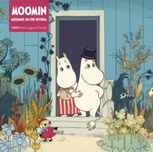 Adult Jigsaw Puzzle Moomins on the Riviera : 1000-piece Jigsaw Puzzles, Jigsaw Book