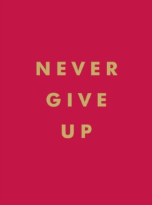 Never Give Up : Inspirational Quotes for Instant Motivation, EPUB eBook