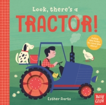 Look, There's a Tractor!, Board book Book