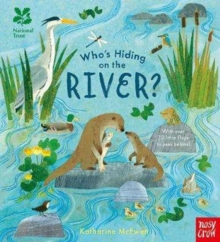 National Trust: Who's Hiding on the River?, Board book Book