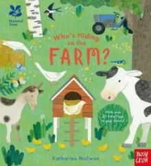 National Trust: Who's Hiding on the Farm?, Board book Book