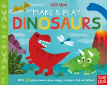 Make and Play Dinosaurs, Board book Book