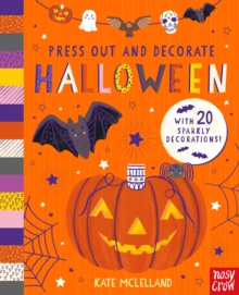 Press Out and Decorate: Halloween, Board book Book