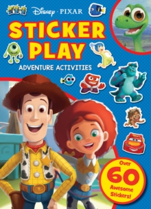 Disney Pixar: Sticker Play Adventure Activities, Paperback / softback Book