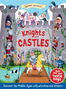 HISTORY ACTIVITY KNIGHTS & CASTLES,  Book