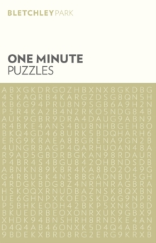 Bletchley Park One Minute Puzzles, Paperback Book