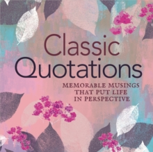 Classic Quotations, Paperback / softback Book