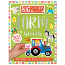 Big Stickers for Little Hands: Farm Friends, Paperback Book