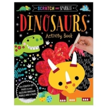 Scratch and Sparkle - Dinosaurs Activity Book, Paperback / softback Book