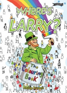 Where's Larry? The Colouring Book, Paperback Book
