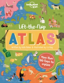 Lift-the-Flap Atlas, Hardback Book