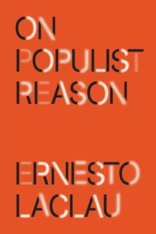 On Populist Reason, Paperback / softback Book